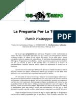 Heidegger Martin - La Pregunta Por La Tecnica