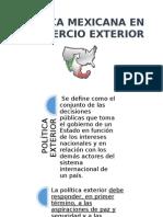 Política Mexicana en El Comercio Exterior Final