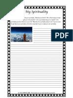 My Spirituality Worksheet