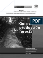 Technical Report - Guia de Produccion Forestal
