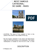 The Most Famous Cathedral, Paris
