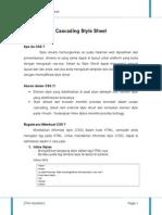 Cascading Style Sheet Baru