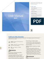 Samsung NX10 User Manual