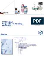 OTC Project Corporate ITS Meeting
