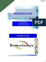 1.00 - Definicion Bromatología
