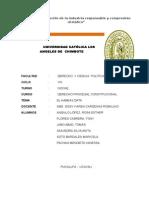 Derecho y Ciencias Politicas