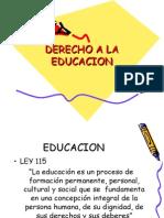 Derechoalaeducacion Copia 100904222623 Phpapp01