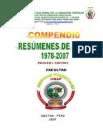 LISTADO DE TESIS 1987 AL 2007 UNAP
