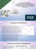 Cadenas Carbonadas EXPOSICION