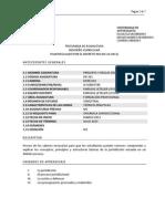 Programa Principios ay Reglas de Derecho Procesal