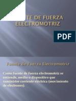 Fuente de Fuerza Electromotriz