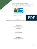 Auditoria de Sistemas Auditoria Centro de Computo