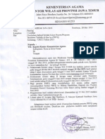 Perubahan Jadwal Seleksi Calon Peserta Program Beasiswa Tahfidzul Qur`an (PBTQ) Kemenag-UICCI 2015