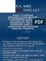 r.a. 9485 Anti Red Tape Act