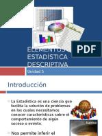 Elementos de Estadistica Descriptiva