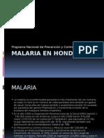 Malaria en Honduras