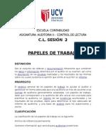 2 c.l. Sesion 2 - Archivo de Papeles de Trabajo