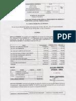 Proyecto de Acuerdo No 004 ( 27 de Febrero  de 2015 )