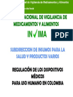 Dispositivos Medicos - INVIMA