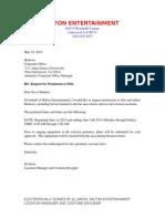 harlowe permission letter