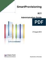 CP R77 SmartProvisioning AdminGuide