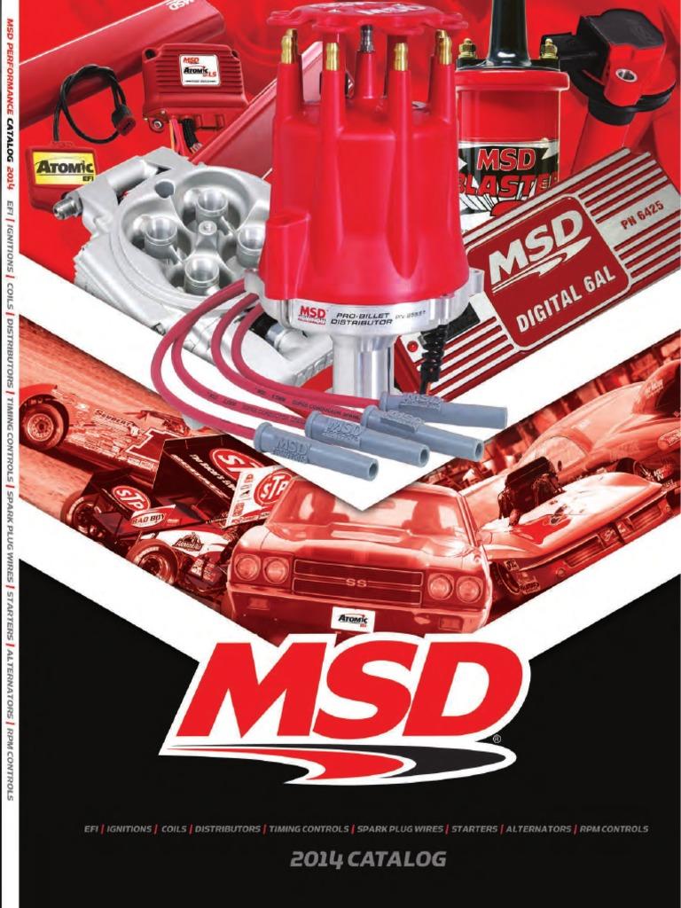 Catalogo Msd 2014 | Ignition System | Distributor on