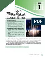 Bab 1 - Bentuk Pangkat, Akar, Dan Logaritma (Final)