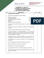Modelo de Planeación de Auditoria Fiscal