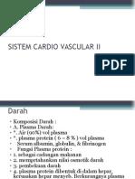 Sistem Cardiovascular II