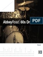 Abbey Road 60s Drummer Manual English