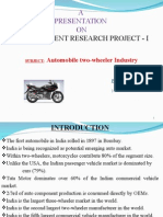 Automobile Two Wheeler