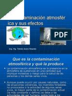 La Contaminación Atmosférica y SusEfectos - Copia