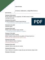 Cronograma.literatura Centroamericana. I 2015
