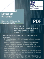 Bolsa de Valores de Panamá