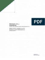 Metrobank, S.a. y Sub. Dic. 2014-2