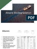 Alkane Biodegradation