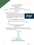 MEC222_3 Fluid Mechanics QP - Amrita University