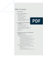 Programming in C 3rd Edition TOC