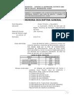 Ayuda Memoria IE Arguedas - La Quemazon