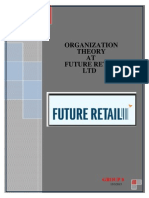 A Project Report on Organisational structure of Future group