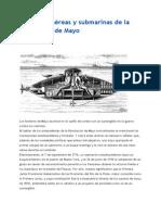 Las Armas Aéreas y Submarinas de La Revolución de Mayo
