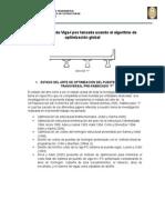 Resumen-Diseño Óptimo de Viga-I Pos Tensada Usando El Algoritmo de Optimización Global