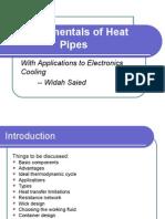 Fundamentals of Heat Pipes i i