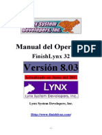 Manual Español FinishLynx