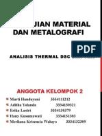 Pengujian Material Dan Metalografi