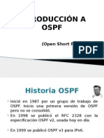INTRODUCCION A OSPF