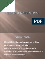 Género Narrativo - PPT