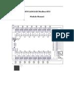ZHTF16DO16DI Modbus-RTU Module Manaul V2.0