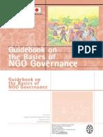 Guidebook on the Basics of NGO Governance