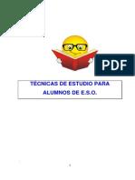 Técnicas de estudio para alumnos de ESO